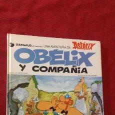 Cómics: ASTERIX - OBELIX Y COMPAÑIA - GOSCINNY & UDERZO - CARTONE . Lote 183548400