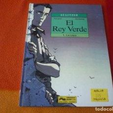 Cómics: EL REY VERDE 1 LA CAZA SULITZER ( ARMAND ANNESTAY ) ¡BUEN ESTADO! TAPA DURA GRIJALBO . Lote 183553705
