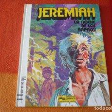 Cómics: JEREMIAH 1 LA NOCHE DE LOS RAPACES ( HERMANN ) ¡BUEN ESTADO! TAPA DURA GRIJALBO DARGAUD. Lote 183761076