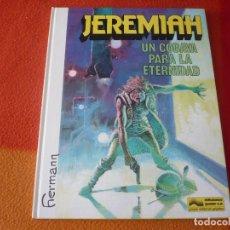 Cómics: JEREMIAH 5 UN COBAYA PARA LA ETERNIDAD ( HERMANN ) ¡MUY BUEN ESTADO! TAPA DURA GRIJALBO DARGAUD. Lote 183761178