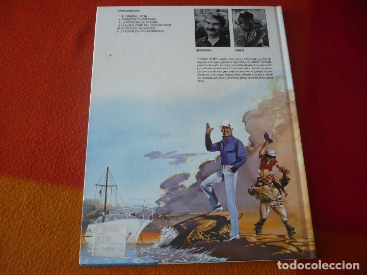 Cómics: BERNARD PRINCE 2 TORMENTA EN CORONADO ( HERMANN GREG) ¡MUY BUEN ESTADO! TAPA DURA GRIJALBO DARGAUD - Foto 2 - 183815001