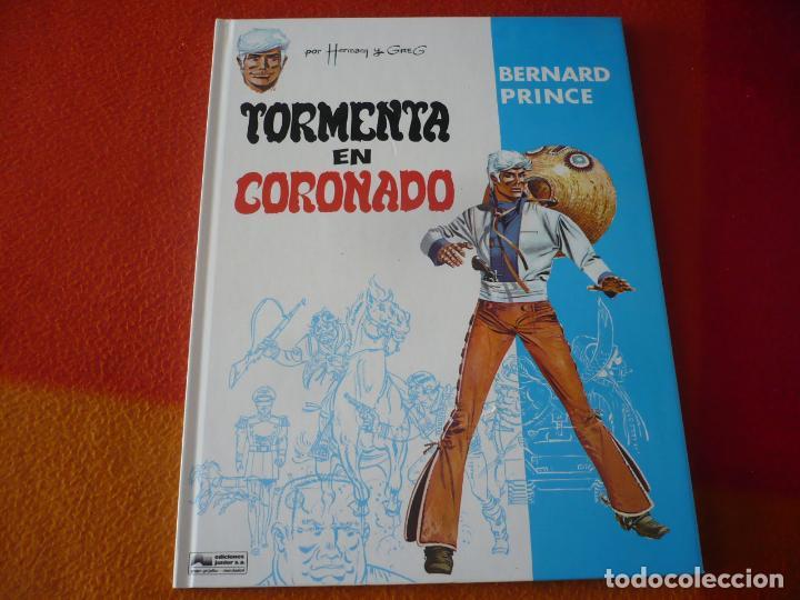 BERNARD PRINCE 2 TORMENTA EN CORONADO ( HERMANN GREG) ¡MUY BUEN ESTADO! TAPA DURA GRIJALBO DARGAUD (Tebeos y Comics - Grijalbo - Jeremiah)