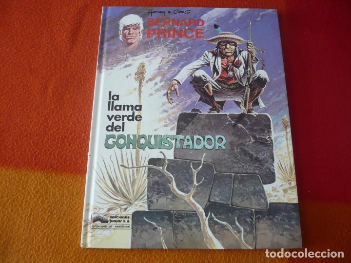 BERNARD PRINCE 8 LA LLAMA VERDE DEL CONQUISTADOR ( HERMANN ) ¡MUY BUEN ESTADO! TAPA DURA GRIJALBO (Tebeos y Comics - Grijalbo - Jeremiah)