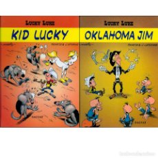 Cómics: LUCKY LUKE. KID LUCKY COMPLETO 1 2. KID LUKE. OKLAHOMA JIM. SALVAT.. Lote 183854930