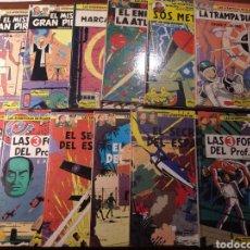 Cómics: LAS AVENTURAS DE BLAKE Y MORTIMER. 12 TOMOS COLECCIÓN COMPLETA PRIMER CICLO DE ED. JUNIOR GRIJALBO. Lote 183866427