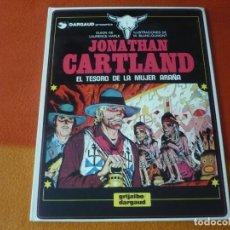 Cómics: JONATHAN CARTLAND 5 EL TESORO DE LA MUJER ARAÑA ( BLANC-DUMONT) ¡BUEN ESTADO! TAPA DURA GRIJALBO. Lote 183893758