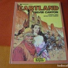 Cómics: JONATHAN CARTLAND 6 SILVER CANYON ( BLANC-DUMONT) ¡MUY BUEN ESTADO! TAPA DURA GRIJALBO. Lote 183893977