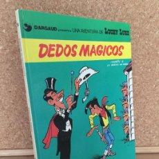 Cómics: LUCKY LUKE Nº 26 - DEDOS MAGICOS - MORRIS & GOSCINNY - GRIJALBO/DARGAUD - TAPA DURA - GCH. Lote 183902790