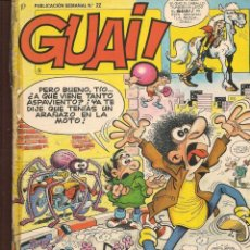 Cómics: GUAI!. 22. JUNIOR / GRIJALBO (P/C53). Lote 183937632
