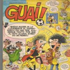 Cómics: GUAI!. 21. JUNIOR / GRIJALBO (P/C53). Lote 183937785