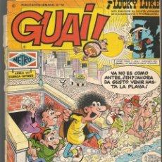 Cómics: GUAI!. 14. JUNIOR / GRIJALBO (P/C53). Lote 183938947