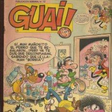 Cómics: GUAI!. 12. JUNIOR / GRIJALBO (P/C53). Lote 183939270