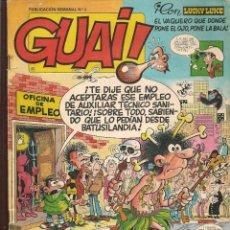 Cómics: GUAI!. Nº 2. JUNIOR / GRIJALBO (P/C53). Lote 183941416