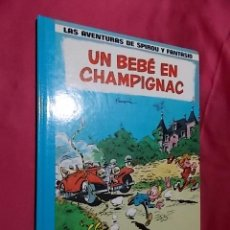 Comics : LAS AVENTURAS DE SPIROU Y FANTASIO. Nº 15. UN BEBE EN CHAMPIGNAC. GRIJALBO. Lote 183961616