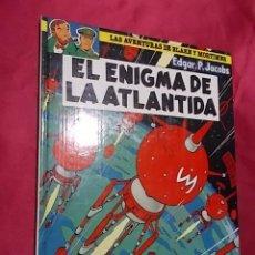 Comics : LAS AVENTURAS DE BLAKE Y MORTIMER. Nº 4. EL ENIGMA DE LA ATLANTIDA. JUNIOR. GRIJALBO. 1984. Lote 183962612