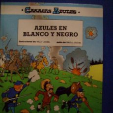 Cómics: CASACAS AZULES Nº 9 AZULES EN BLANCO Y NEGRO POR WILLY LAMBIL Y RAOUL CAUVIN ED JUNIOR GRIJALBO. Lote 184032735