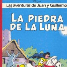 Cómics: AVENTURAS DE JUAN Y GUILLERMO. LA PIEDRA DE LA LUNA. EDICIONES JUNIOR, 1986. Lote 184051727