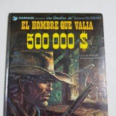 Cómics: EL HOMBRE QUE VALIA 500000 $ ESTADO NORMAL MAS ARTICULOS . Lote 184060078