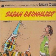 Comics: LUCKY LUKE -- SARAH BERNHARDT -- EN CATALÀ. Lote 184148605