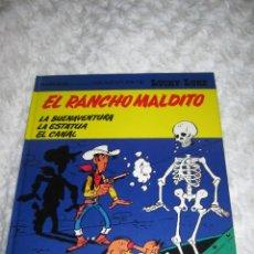 Cómics: UNA AVENTURA DE LUCKY LUKE - EL RANCHO MALDITO N. 47. Lote 184191012