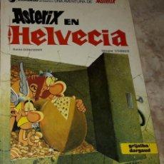 Cómics: ASTERIX EN HELVECIA DARGAUD GRIJALBO GUIÓN GOSCINNY DIBUJOS UDERZO. Lote 184250348