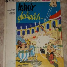 Cómics: ASTERIX GLADIADOR DARGAUD GRIJALBO GUIÓN GOSCINNY DIBUJOS UDERZO. Lote 184250595