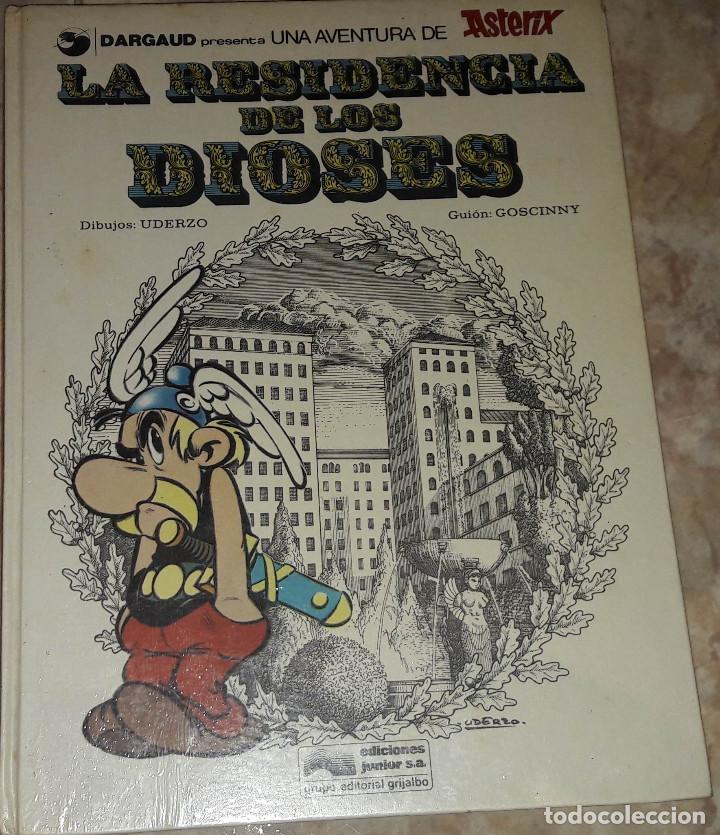 ASTERIX LA RESIDENCIA DE LOS DIOSES DIBUJO UDERZO GUION GOSCINNY EDICIONES JUNIOR GRIJALDO (Tebeos y Comics - Grijalbo - Asterix)