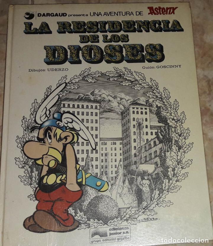 Cómics: ASTERIX LA RESIDENCIA DE LOS DIOSES DIBUJO UDERZO GUION GOSCINNY EDICIONES JUNIOR GRIJALDO - Foto 2 - 184251396