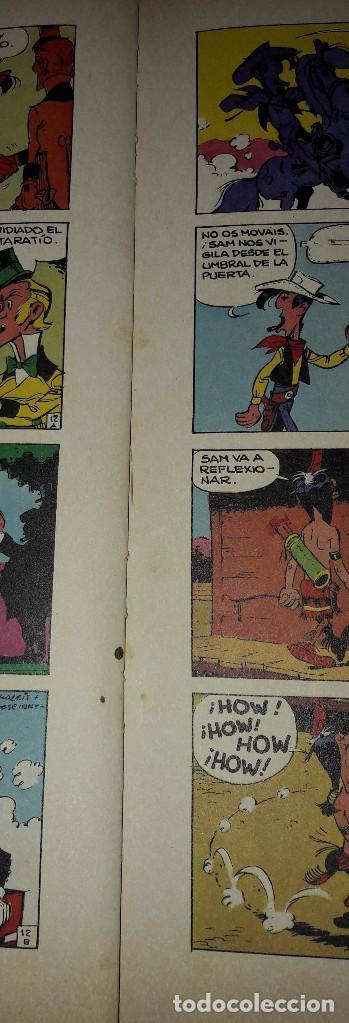 Cómics: LUCKY LUKE EL PIE TIERNO GUION GOSCINNY ILUSTRACIONES MORRIS EDICIONES JUNIOR - Foto 4 - 184252688
