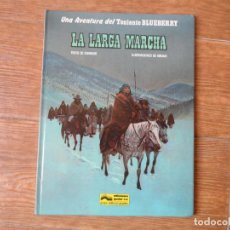 Cómics: TENIENTE BLUEBERRY Nº 16 LA LARGA MARCHA - GRIJALBO - TAPA DURA. Lote 184303973