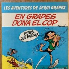 Fumetti: LES AVENTURES DE SERGI GRAPES Nº 3 - EN GRAPES DÓNA EL COP - 1984 - CATALÁN. Lote 184468920