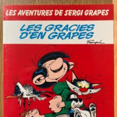 Fumetti: LES AVENTURES DE SERGI GRAPES Nº 4 - LES GRÀCIES D'EN GRAPES - 1985 - CATALÁN. Lote 184469100