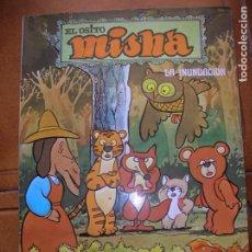 Cómics: TEBEO EL OSITO MISHA CAPITULO ,LA INUNDACION EDICIONES JUNIOR 1980 COLOR. Lote 184518258