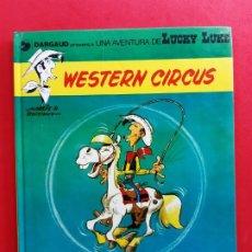Cómics: LUCKY LUKE WESTERN CIRCUS 1ª EDICION EN CATALAN. Lote 184713020