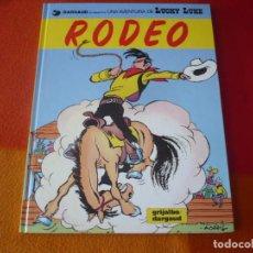 Cómics: LUCKY LUKE 50 RODEO ( MORRIS ) ( EN CATALAN ) ¡MUY BUEN ESTADO! TAPA DURA GRIJALBO. Lote 184714971