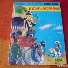 Cómics: LUCKY LUKE 43 EL ELIXIR DEL DOCTOR DOXIO ( MORRIS ) ¡MUY BUEN ESTADO! TAPA DURA GRIJALBO. Lote 184715212