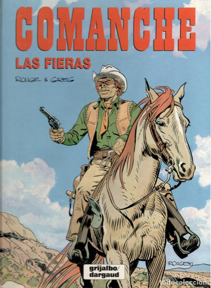 LAS FIERAS (Tebeos y Comics - Grijalbo - Comanche)
