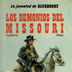 Cómics: LOS DEMONIOS DEL MISSOURI. Lote 185721270