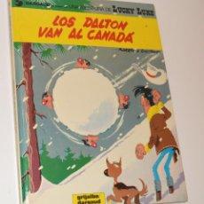 Cómics: LOS DALTON VAN AL CANADÁ - CASTELLANO - TAPA DURA - 1ª EDICIÓN - 1971. Lote 185908203