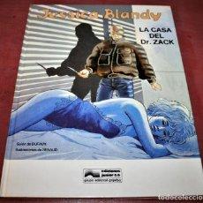 Cómics: JESSICA BLANDY, LA CASA DEL DR. ZACK - DUFAUX/RENAUD - GRIJALBO - 1989. Lote 186149661
