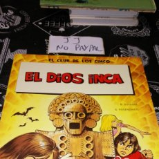 Cómics: TAPA BLANDA EL CLUB DE LOS CINCO EL DIOS INCA NUMERO 2. Lote 186175635