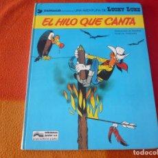 Cómics: LUCKY LUKE 10 EL HILO QUE CANTA ( GOSCINNY MORRIS ) ¡BUEN ESTADO! TAPA DURA GRIJALBO. Lote 186286257