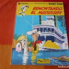 Cómics: LUCKY LUKE 9 REMONTANDO EL MISSISSIPI ( MORRIS ) TAPA DURA GRIJALBO. Lote 186286358