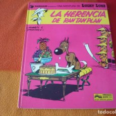 Cómics: LUCKY LUKE 6 LA HERENCIA DE RAN TAN PLAN ( GOSCINNY MORRIS ) ¡BUEN ESTADO! TAPA DURA GRIJALBO. Lote 186286677