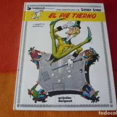 Cómics: LUCKY LUKE 4 EL PIE TIERNO ( GOSCINNY MORRIS ) ¡BUEN ESTADO! TAPA DURA GRIJALBO. Lote 186286956