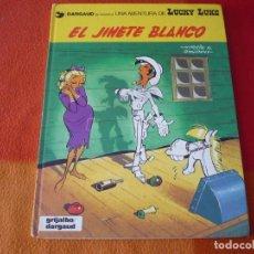 Cómics: LUCKY LUKE 2 EL JINETE BLANCO ( GOSCINNY MORRIS ) TAPA DURA GRIJALBO. Lote 186287331