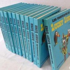 Cómics: LAS AVENTURAS DE LUCKY LUKE, 12 TOMOS COMPLETA EDITORIAL GRIJALBO. Lote 186314265