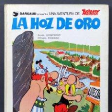 Cómics: ASTÉRIX LA HOZ DE ORO UDERZO GOSCINNY ED GRIJALBO JUNIOR 1979. Lote 186409552