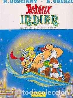 ASTERIX INDIAN 1ª ED. EUSKERA 1987 TAPA DURA COMO NUEVO, SIN SEÑALES (Tebeos y Comics - Grijalbo - Asterix)