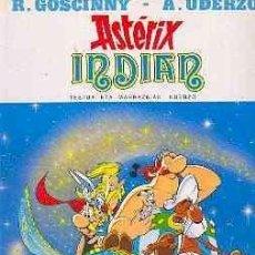 Cómics: ASTERIX INDIAN 1ª ED. EUSKERA 1987 TAPA DURA COMO NUEVO, SIN SEÑALES. Lote 186566461